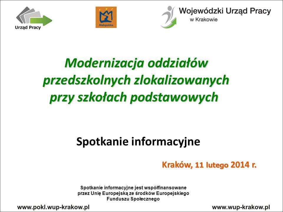 Termin składania wniosków od 24 stycznia do 28 lutego 2014 r.