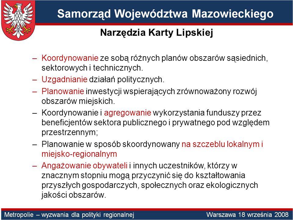 Warszawa z regionem?