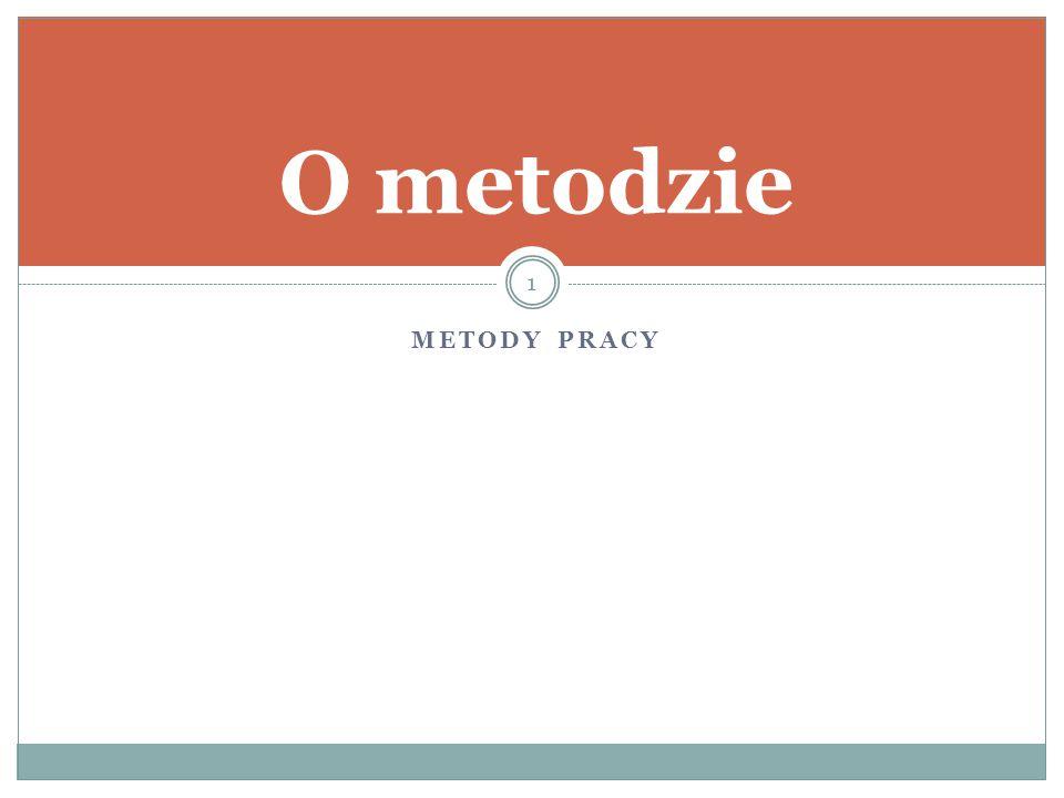 METODY PRACY O metodzie 1