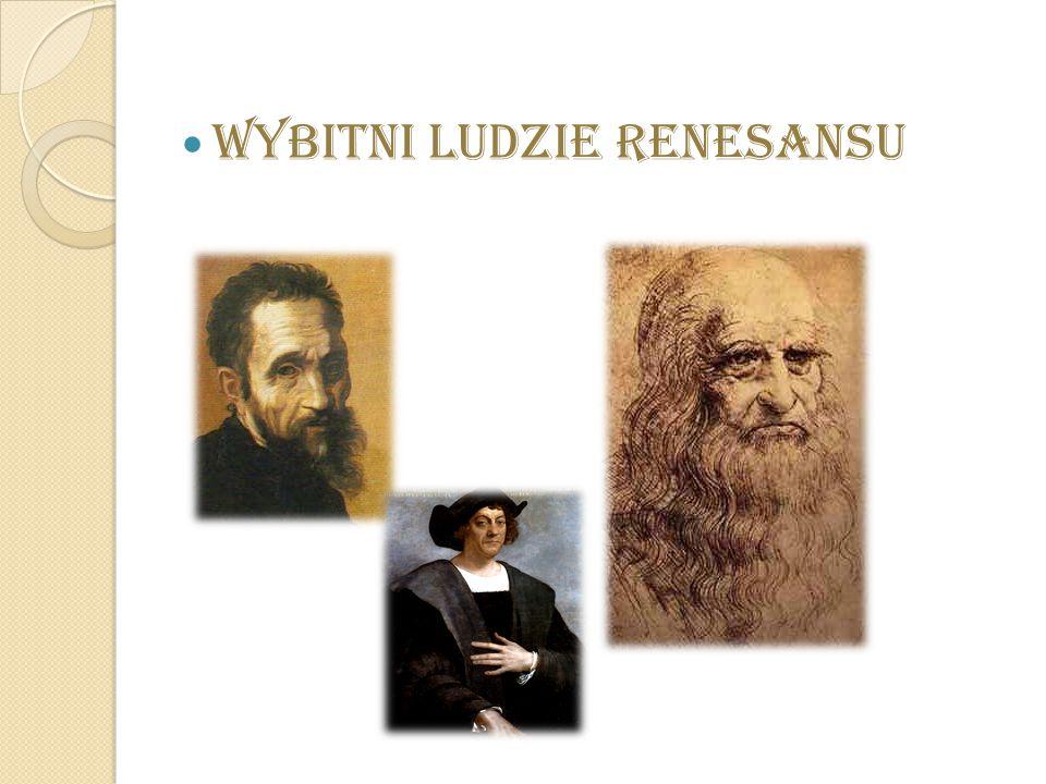Wybitni ludzie Renesansu