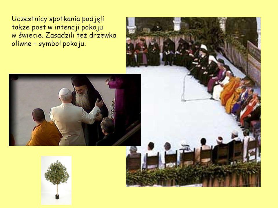 Uczestnicy spotkania podjęli także post w intencji pokoju w świecie. Zasadzili też drzewka oliwne – symbol pokoju.