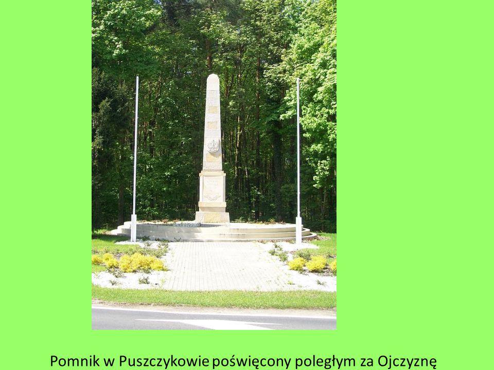 Pomnik w Puszczykowie poświęcony poległym za Ojczyznę