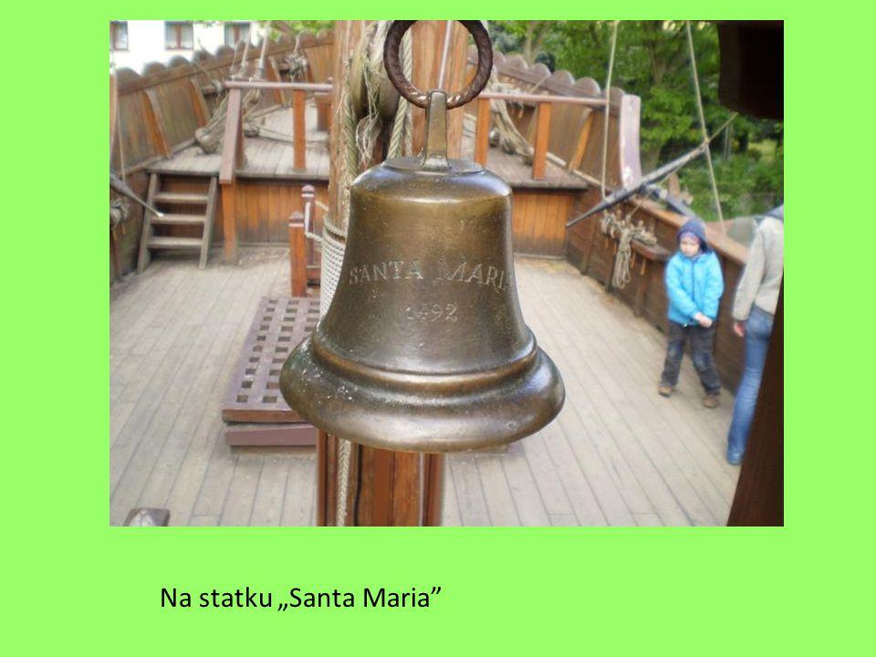 "Na statku ""Santa Maria"""