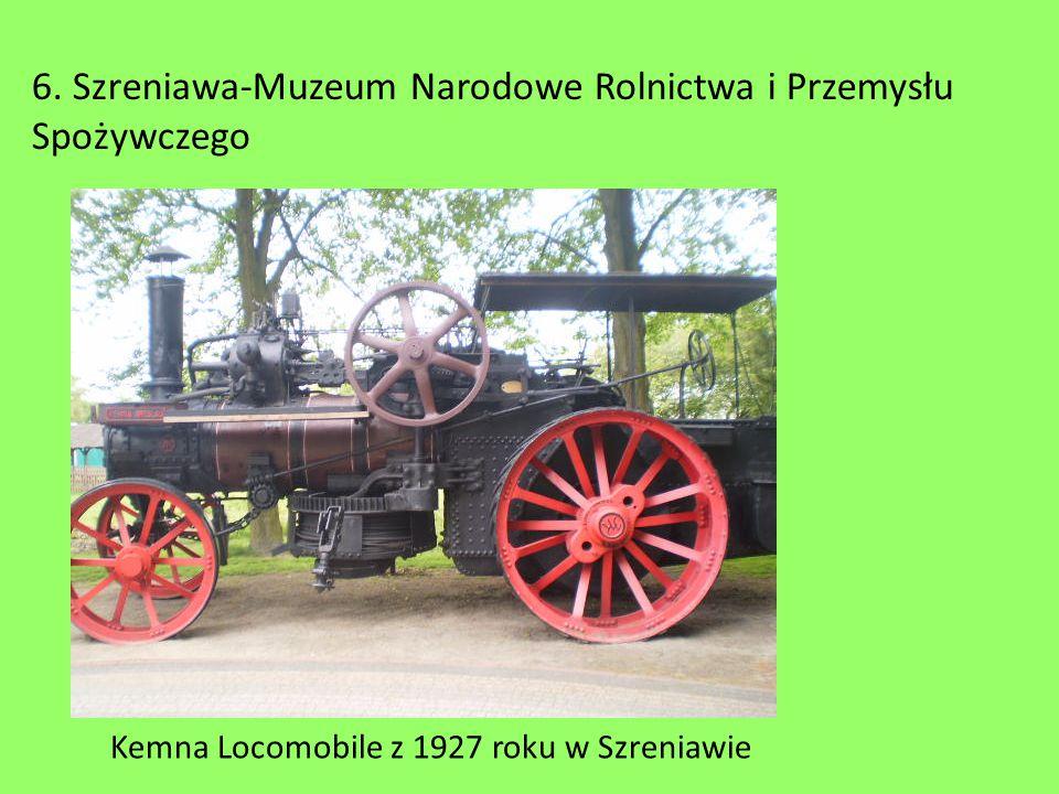 Kemna Locomobile z 1927 roku w Szreniawie 6. Szreniawa-Muzeum Narodowe Rolnictwa i Przemysłu Spożywczego
