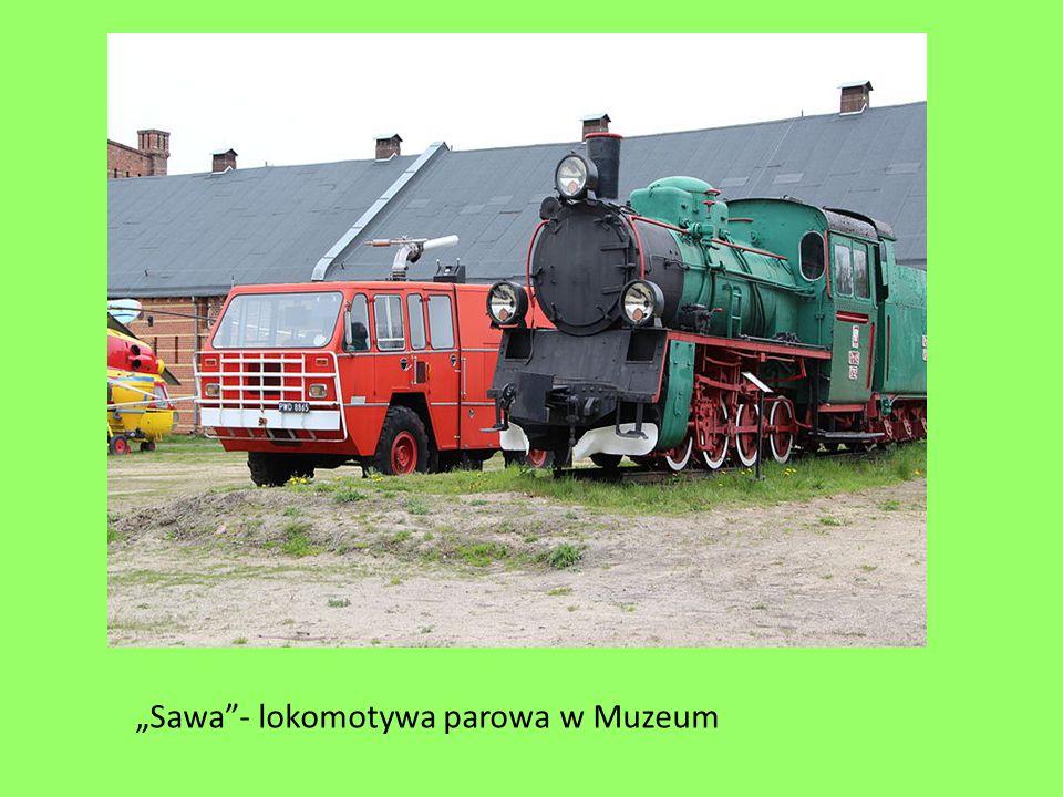 """""""Sawa""""- lokomotywa parowa w Muzeum"""