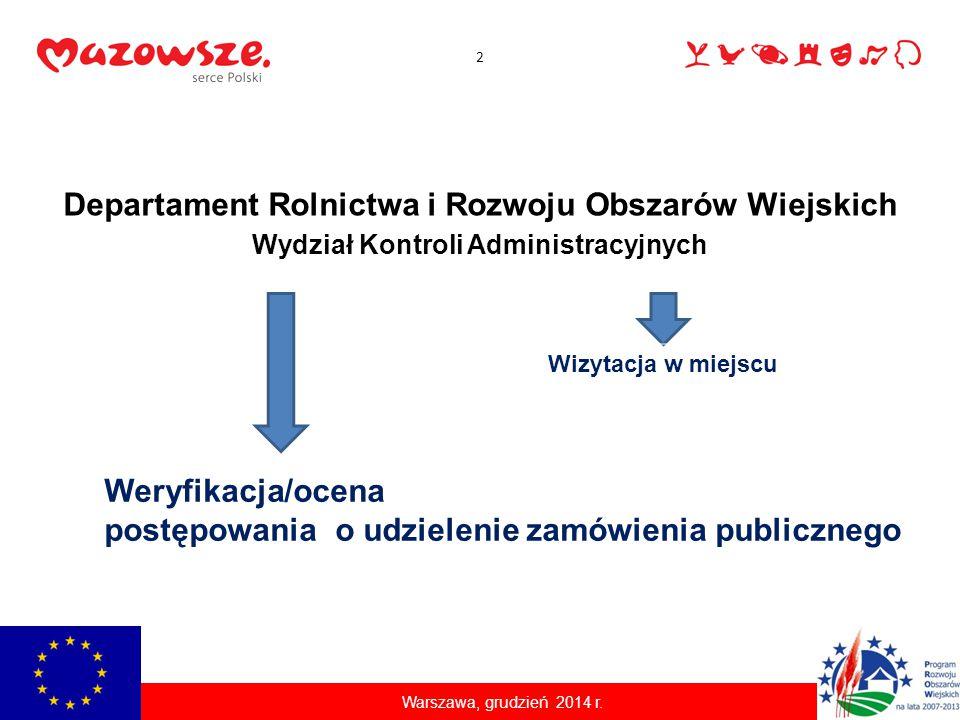 Podstawy prawne Rozporządzenie Komisji (WE) nr 65/2011 z dnia 27 stycznia 2011 r.