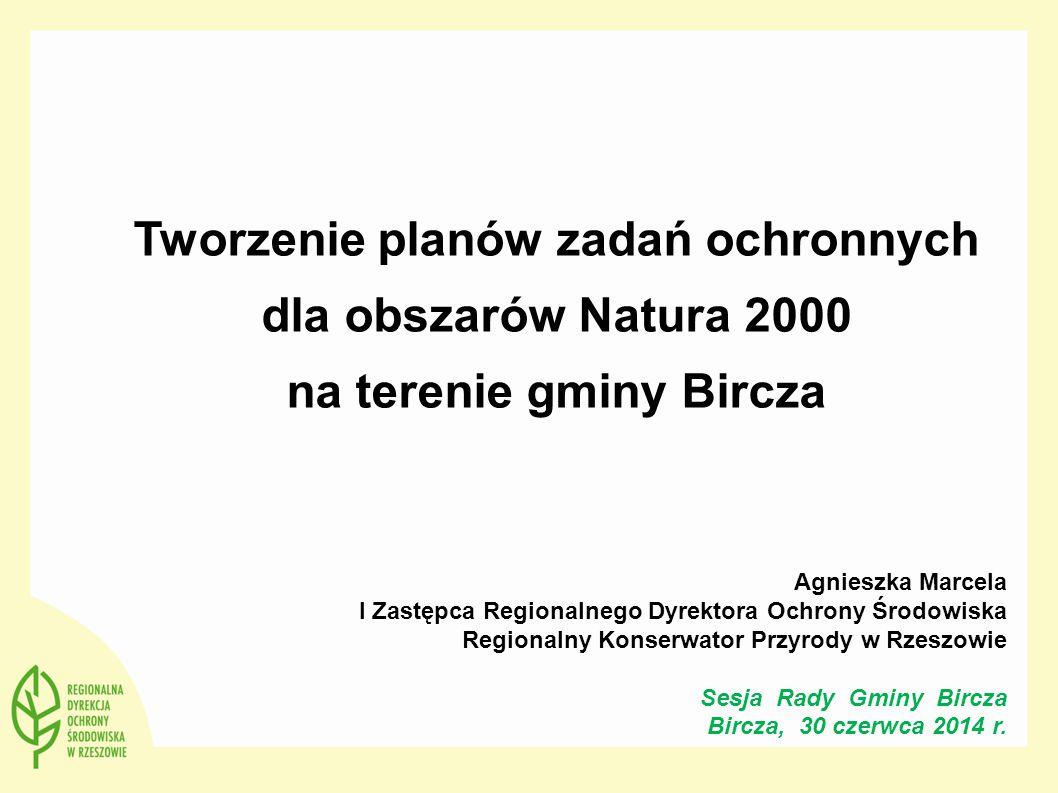 """Plan zadań ochronnych: sporządzany dla każdego obszaru Natura 2000 (z wyjątkiem obszarów morskich), w ciągu 6 lat od jego wyznaczenia lub zatwierdzenia sporządzany na okres 10 lat ustanawiany w trybie zarządzenia RDOŚ sporządzany w ciągu kilku miesięcy-1 roku na podstawie istniejącej, nawet niepełnej wiedzy i prostego rozpoznania terenowego stanu przedmiotów ochrony jest prostą, ale niekoniecznie kompletną """"listą rzeczy do pilnego zrobienia , koniecznych z punktu widzenia przedmiotów ochrony może wskazywać potrzeby zmian w istniejących studiach i planach zagospodarowania przestrzennego, usuwając w ten sposób """"pułapki na inwestorów – jednak analiza nie musi być kompletna może wskazywać na konieczność opracowania planu ochrony dla całości lub części obszaru Plan ochrony: dla obszaru Natura 2000 lub jego części, w razie potrzeby sporządzany na okres 20 lat ustanawiany w trybie rozporządzenia Ministra sporządzany na podstawie kompletnej wiedzy – wymaga wykonania niezbędnej inwentaryzacji, ekspertyz itp.; sporządzenie może wymagać 1-2 lat ustala na dłuższy okres """"stabilne reguły ochrony obszaru - może ustalać, """"gdzie można się budować , a także jakie warunki musi spełniać prowadzona gospodarka, by nie wpływać negatywnie na obszar powinien dokonywać kompletnej analizy istniejących studiów i planów zagospodarowania przestrzennego, wskazując wszystkie potrzebne w nich zmiany powinien określać warunki brzegowe względem przyszłych studiów i planów, a także względem innych przyszłych działań w obszarze – podmiotom działającym w obszarze daje przewidywalność, jak ich działania będą oceniane z punktu widzenia Natury 2000 22"""