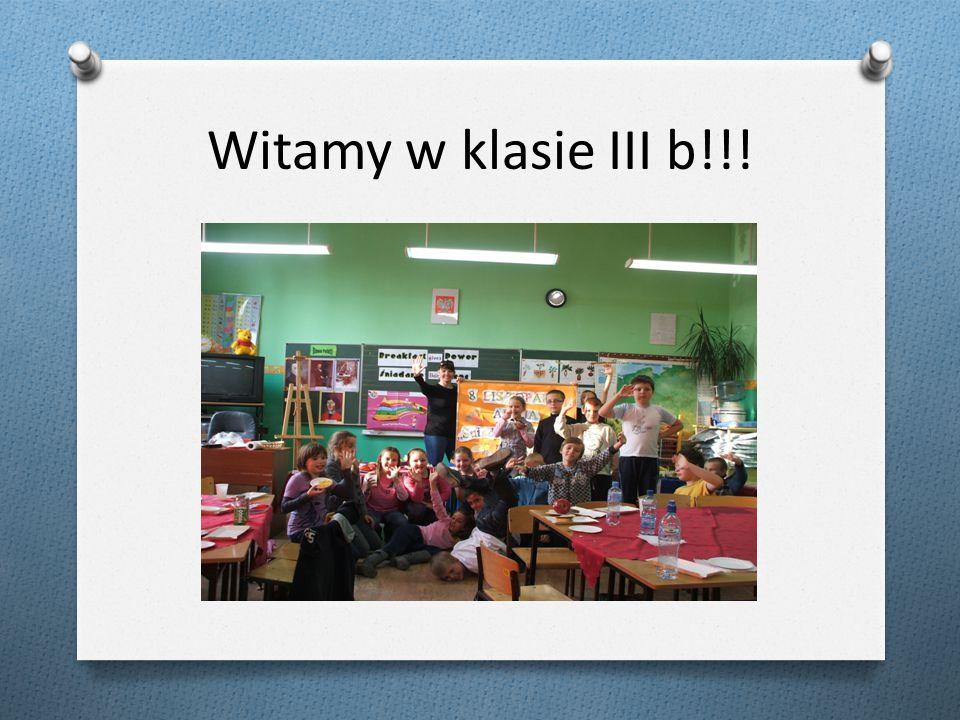 Śniadanie daje moc – dzieci łączcie się 8 listopada – Publiczna Szkoła Podstawowa nr 1 w Żaganiu klasa IIIb