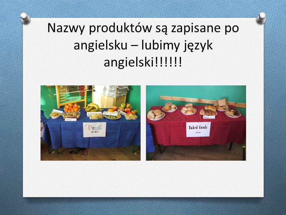 A teraz przedstawiamy produkty, które znalazły się na naszych stołach – mmm..