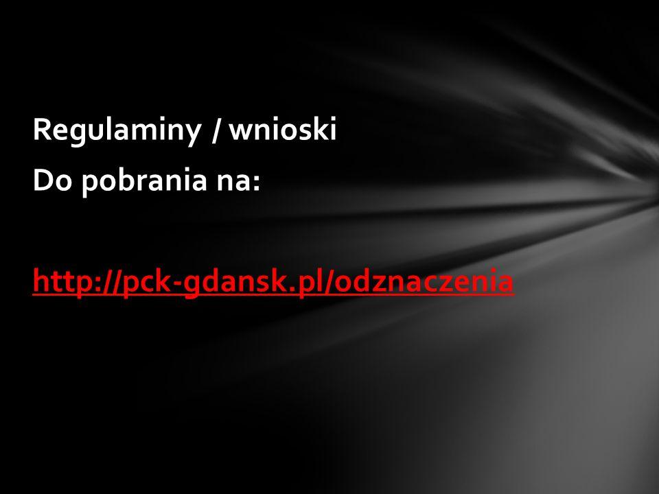 1.Prawidłowo wypełniony wniosek wraz z niezbędnymi załącznikami należy złożyć (osobiście lub przesłać pocztą) w sekretariacie POO PCK 2.Do wniosku należy dołączyć: A) wymagane zaświadczenia (np.