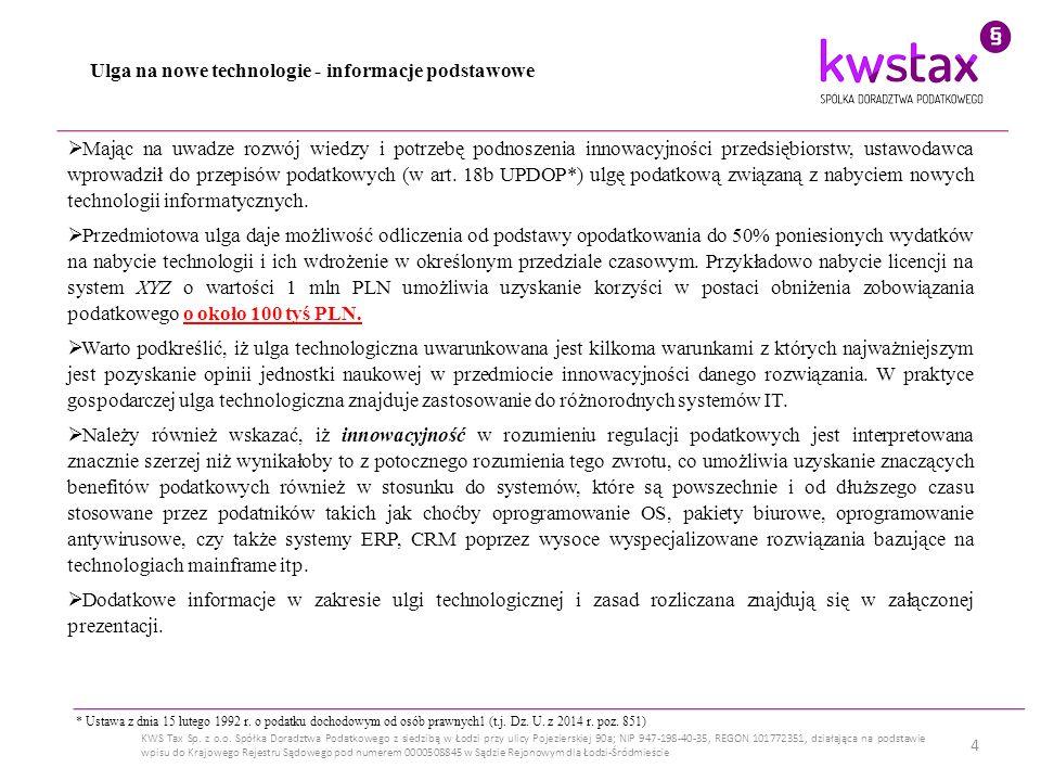 5 KWS Tax Sp.z o.o.
