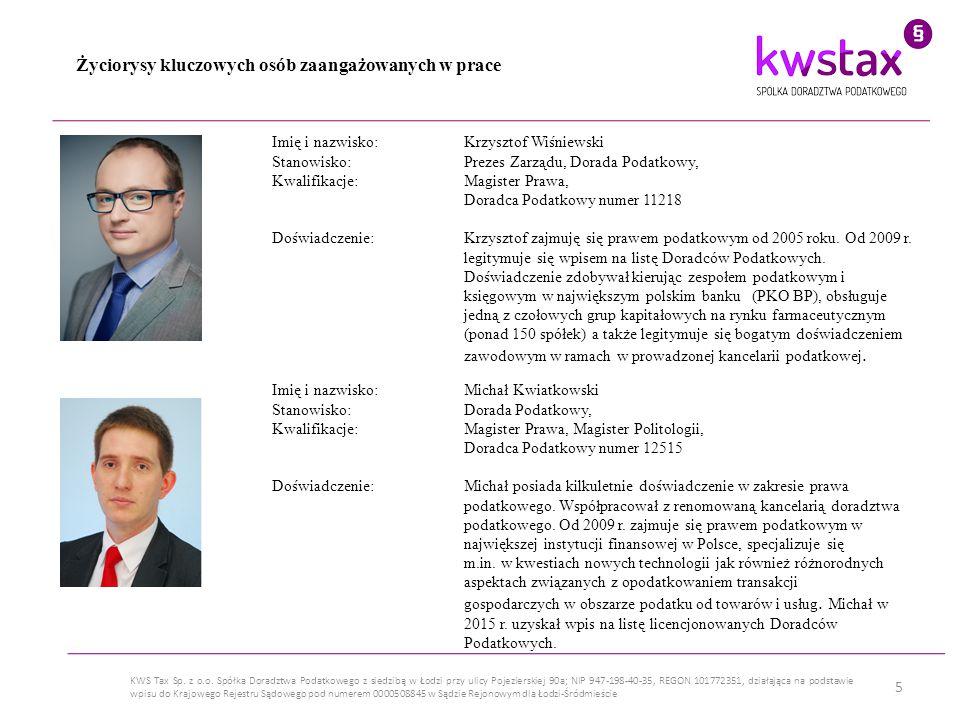 6 KWS Tax Sp.z o.o.