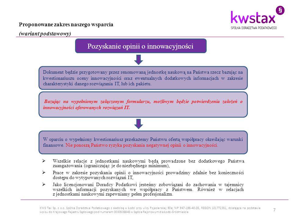 8 KWS Tax Sp.z o.o.