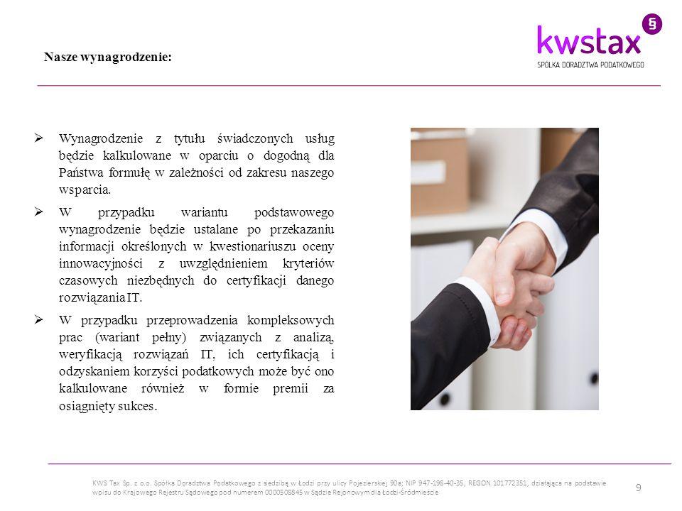 10 KWS Tax Sp.z o.o.