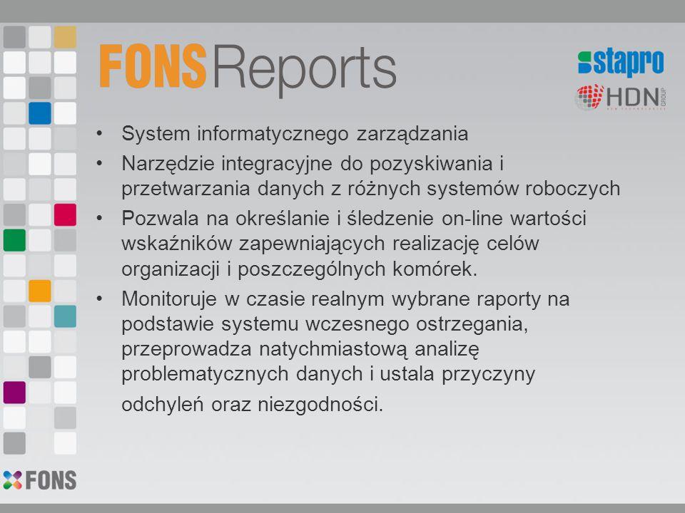 FONS- podsumowanie Prowadzenie dokumentacji medycznej pacjenta w formie elektronicznej niesie z sobą następujące korzyści: Oszczędność czasu lekarza, pielęgniarki Planowanie zabiegów Możliwość poświęcenia większej uwagi pacjentowi Zwiększenie bezpieczeństwa pacjenta Obniżenie kosztów opieki Polepszenie jakości dokumentacji Możliwość dokonania oceny statystycznej Bieżące monitorowanie pracy placówki