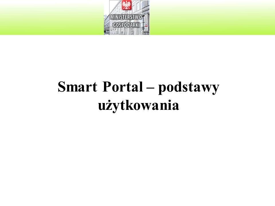 Smart Portal – podstawy użytkowania