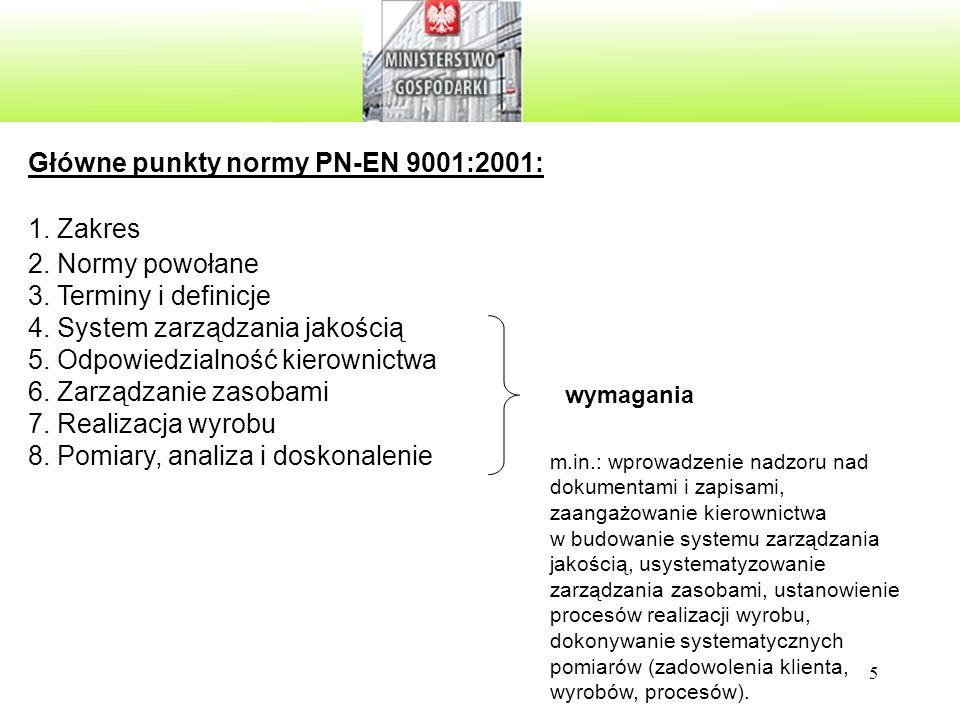 46 Przegląd zarządzania KP-01350-75 Rola pracowników polega głównie na: zbieraniu i analizowaniu ww.