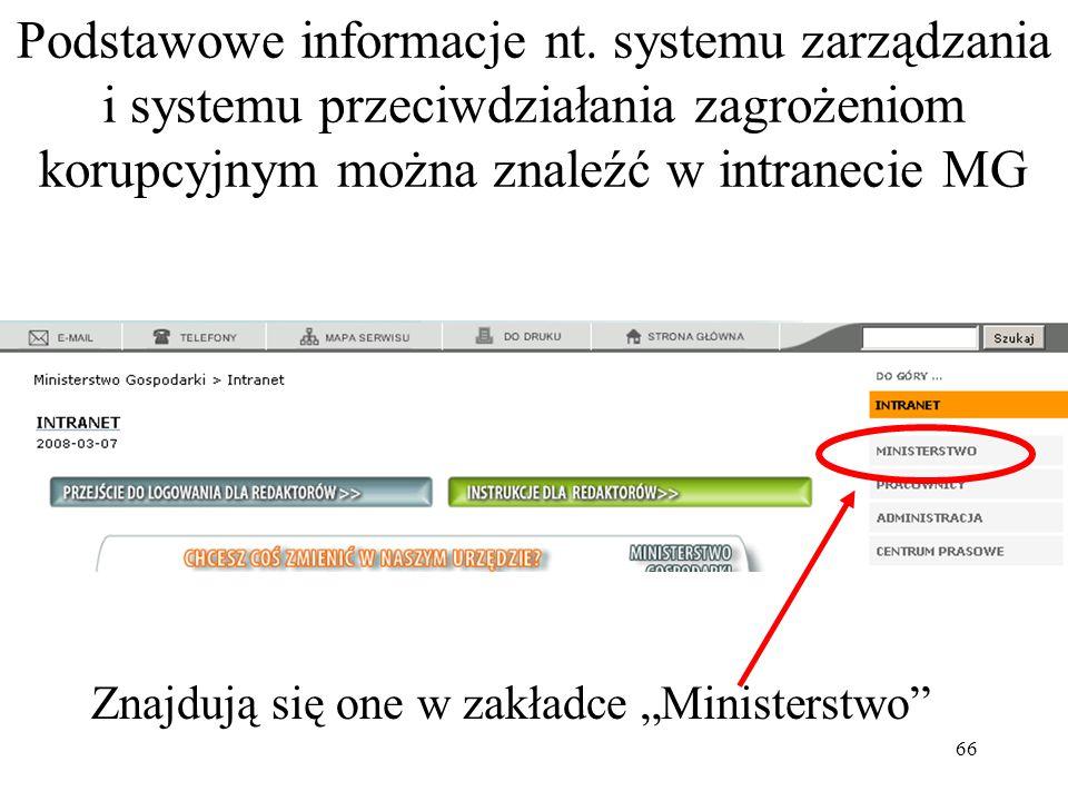 66 Podstawowe informacje nt.