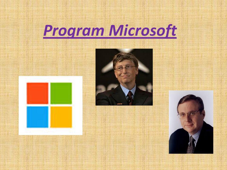 Microsoft to jedno z największych na świecie przedsiębiorstw z branży technologii informacyjnych.