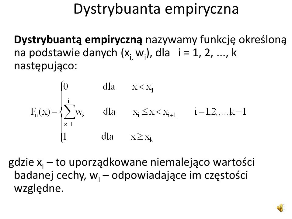 Co to jest dystrybuanta?