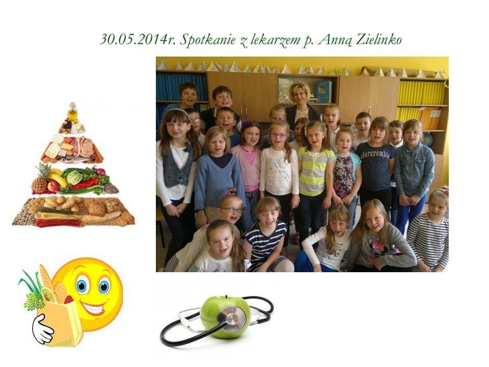 30.05.2014r. Spotkanie z lekarzem p. Anną Zielinko