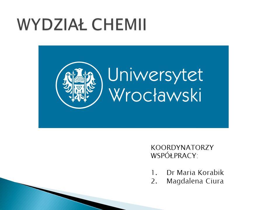 KOORDYNATORZY WSPÓŁPRACY: 1.Dr Maria Korabik 2.Magdalena Ciura