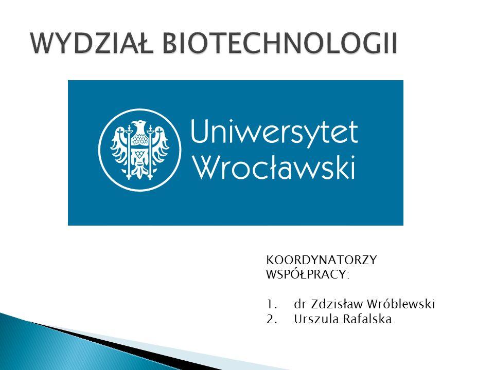 KOORDYNATORZY WSPÓŁPRACY: 1.dr Zdzisław Wróblewski 2.Urszula Rafalska