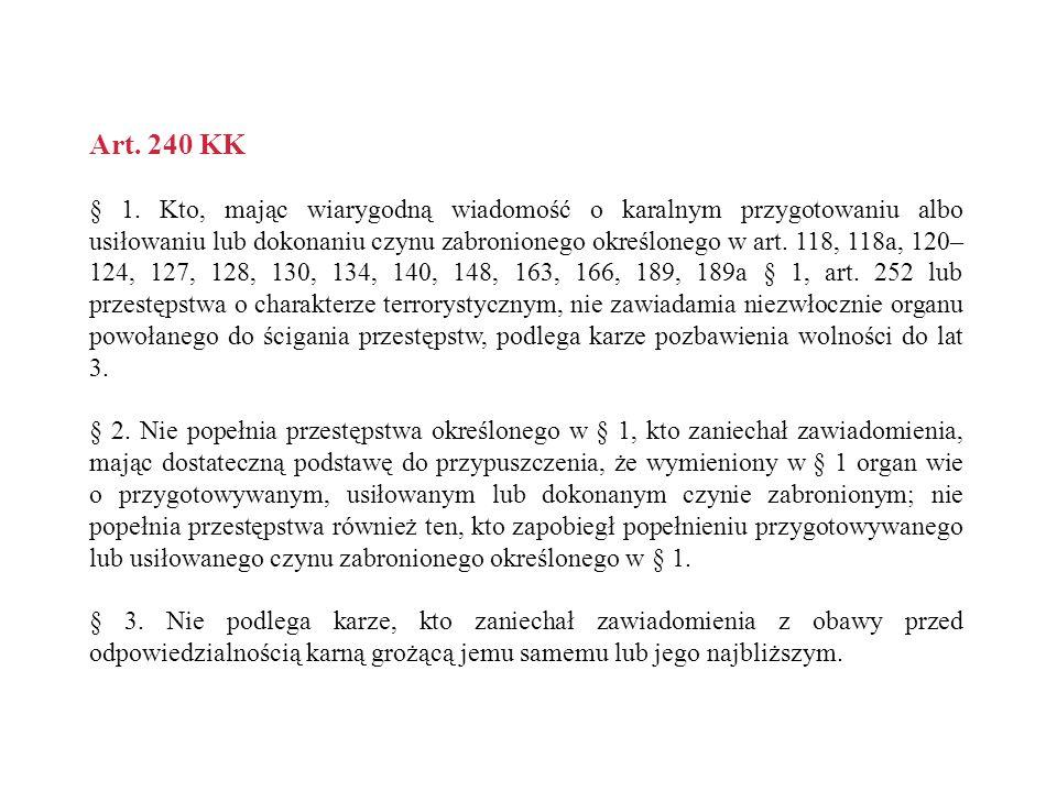 Art.231 KK § 1.