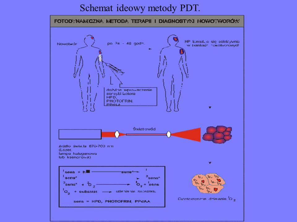 Schemat ideowy metody PDT.