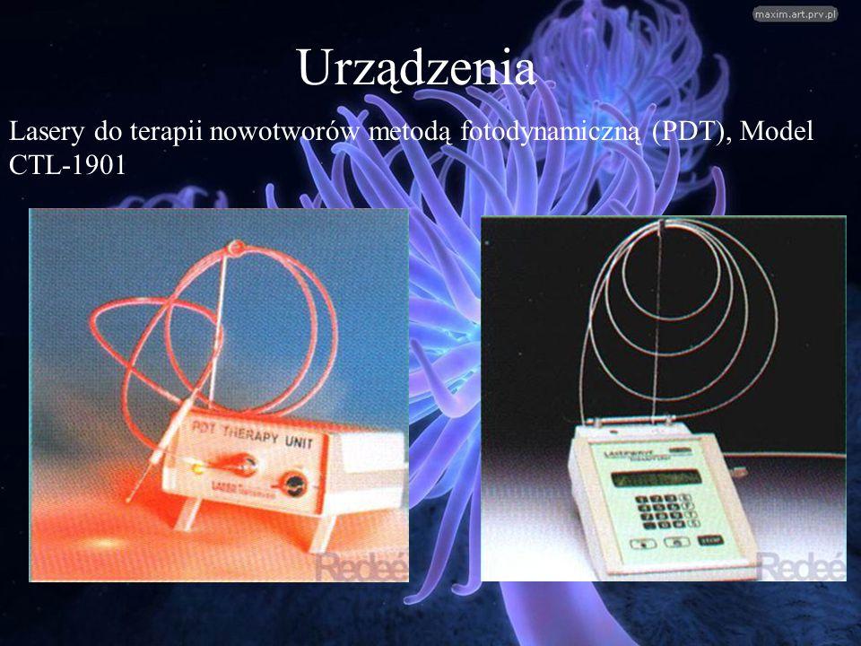 Urządzenia Lasery do terapii nowotworów metodą fotodynamiczną (PDT), Model CTL-1901
