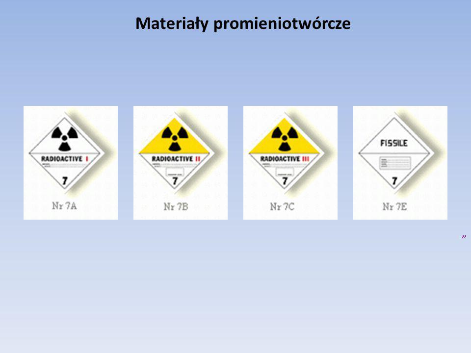 """Materiały promieniotwórcze """""""