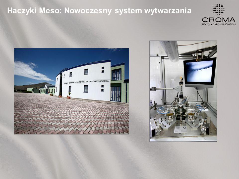 Haczyki Meso: Nowoczesny system wytwarzania