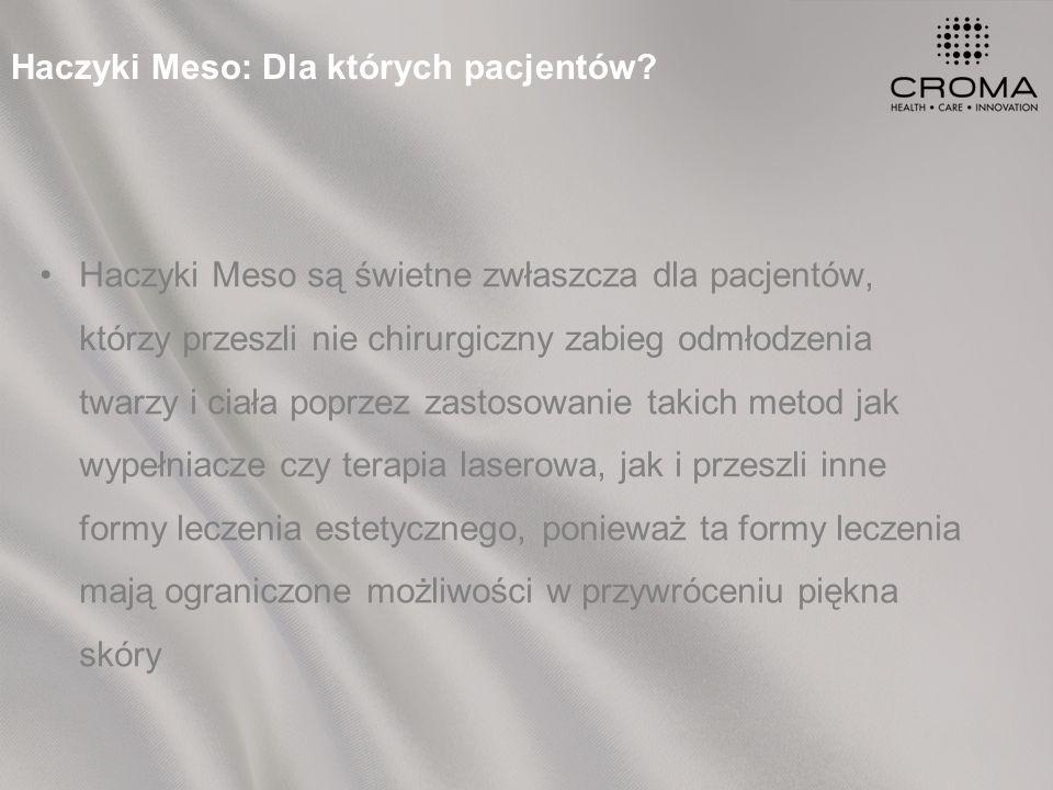 Haczyki Meso: Dla których pacjentów.
