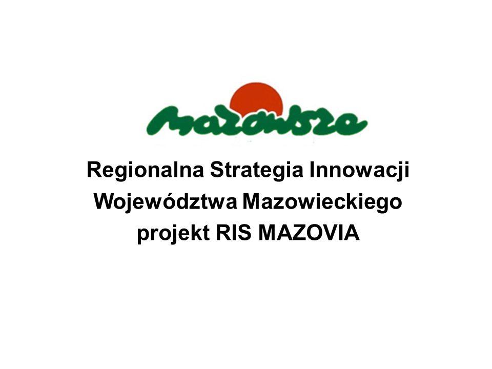 Regionalna Strategia Innowacji Województwa Mazowieckiego projekt RIS MAZOVIA