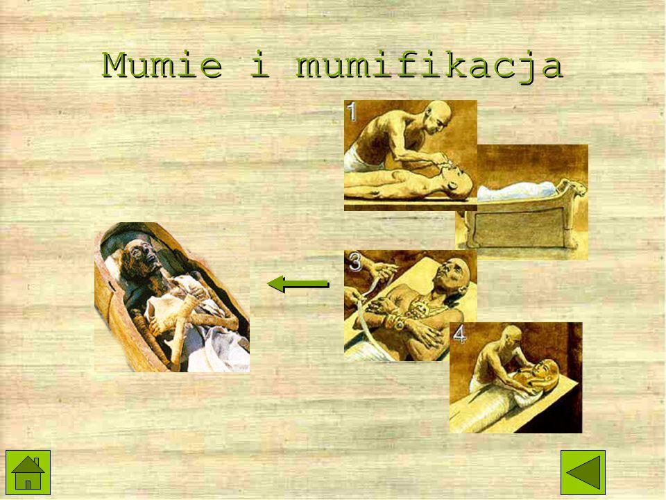 Mumie Najsławniejsza mumia Co to jest mumia? Co zrobić z mumią? Klątwa mumii...