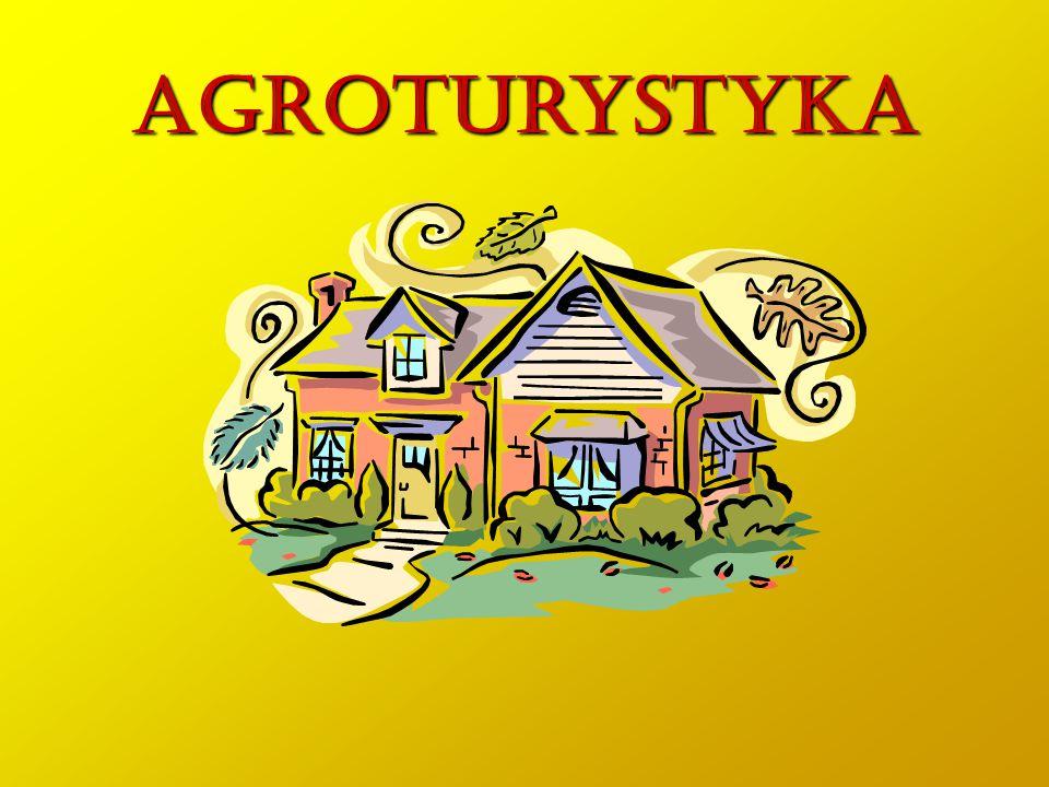 Przez działalność agroturystyczną w gospodarstwie rolnym rozumie się wynajem pokoi osobom przebywającym na wypoczynku oraz wyżywienie tych osób, jeżeli liczba wynajmowanych pokoi nie przekracza pięciu.