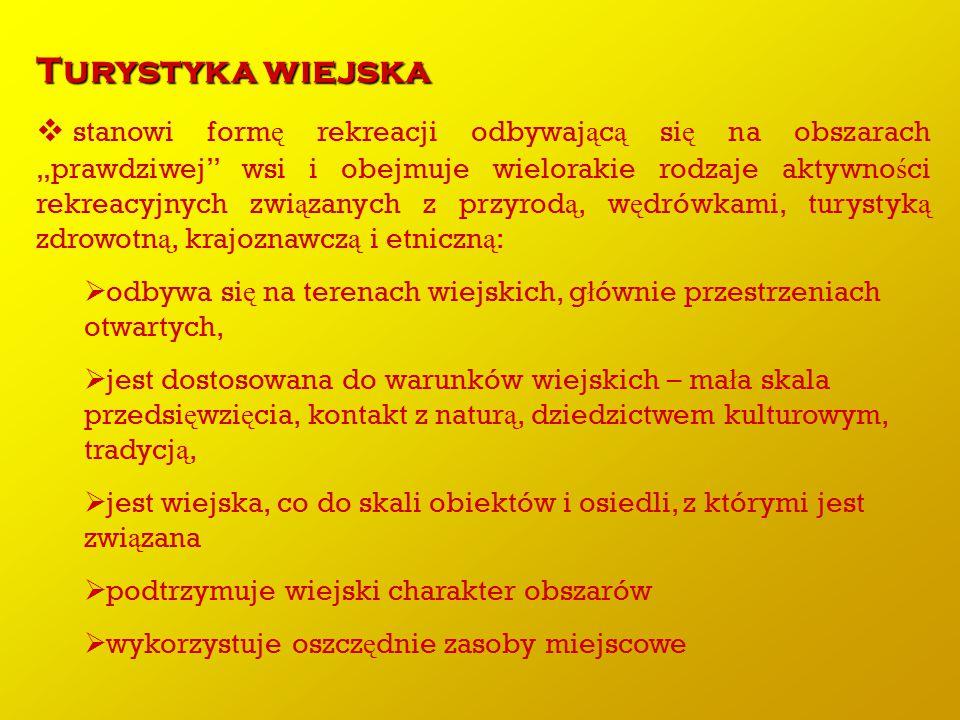 K A T E G O R Y Z A C J A Polskiej Federacji Turystyki Wiejskiej Gospodarstwa Go ś cinne .