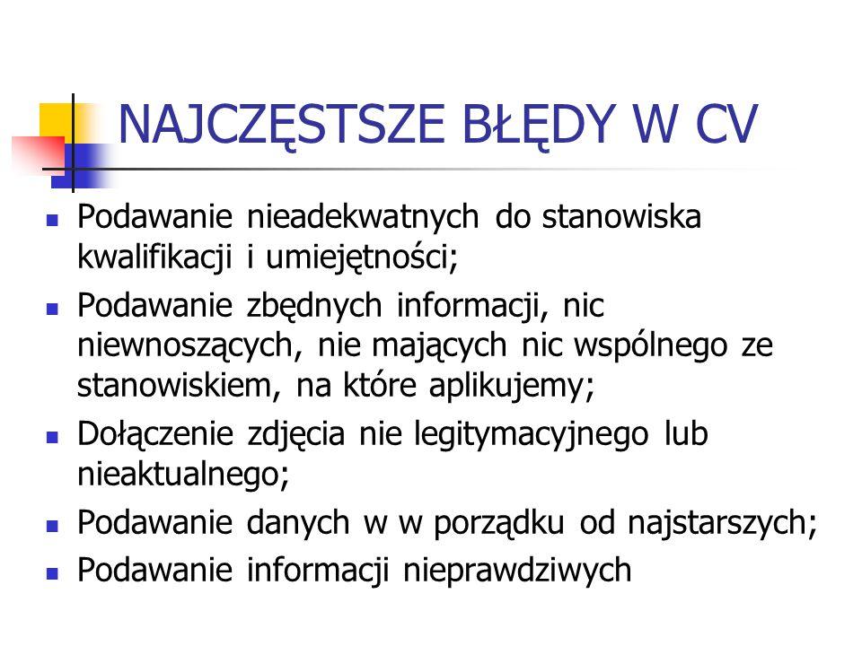 """PRAWO PRACY Art.22 § 1 Kodeksu Pracy: """"Pracodawca ma prawo żądać od osoby ubiegającej się o zatrudnienie podania danych osobowych obejmujących: 1."""