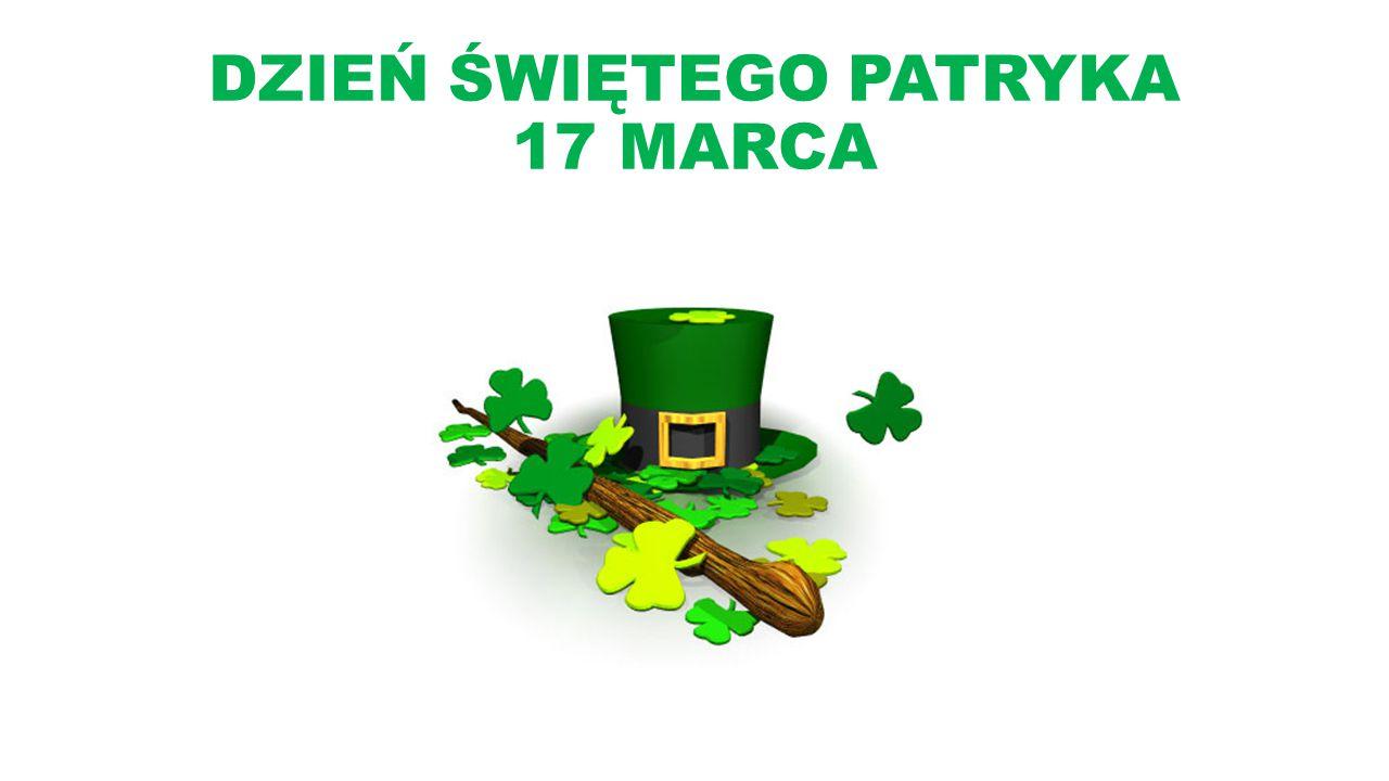 Dzień Świętego Patryka jest dniem wolnym od pracy w Irlandii, Irlandii Północnej, Nowej Fundlandii i Labladorze oraz na Montserarr.
