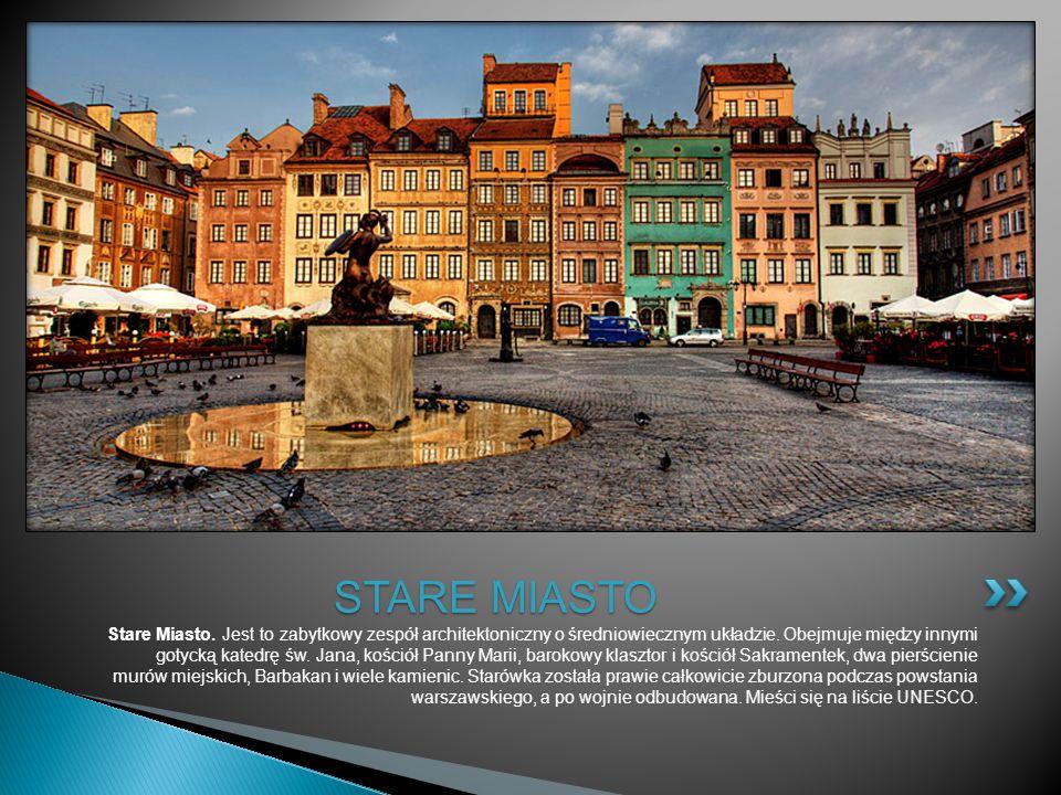 Stare Miasto. Jest to zabytkowy zespół architektoniczny o średniowiecznym układzie. Obejmuje między innymi gotycką katedrę św. Jana, kościół Panny Mar