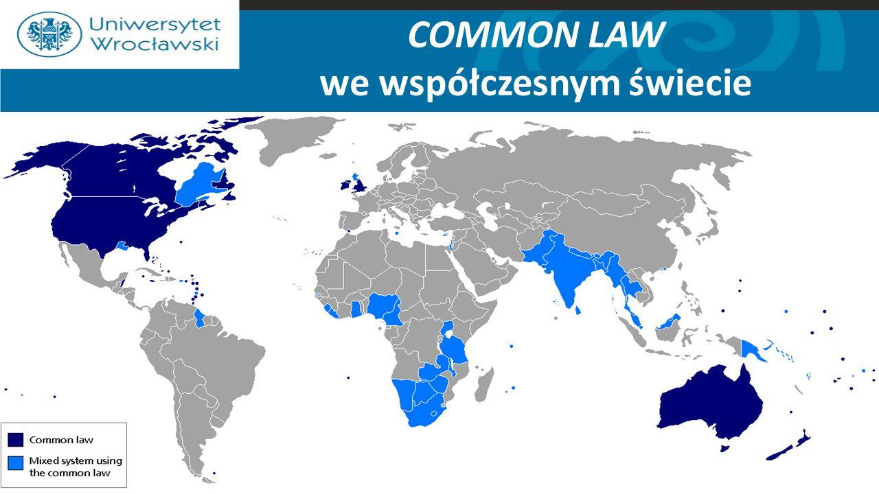 COMMON LAW we współczesnym świecie