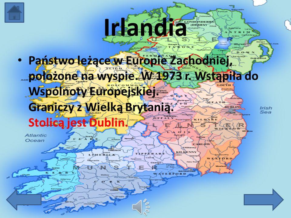 Irlandia Irlandia Flaga Irlandii Godło Informacje Osadnictwo Rząd Irlandii Św. Patryk Haloween Koniec!