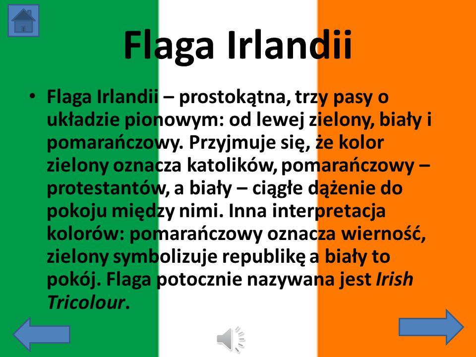Irlandia Państwo leżące w Europie Zachodniej, położone na wyspie. W 1973 r. Wstąpiła do Wspólnoty Europejskiej. Graniczy z Wielką Brytanią. Stolicą je