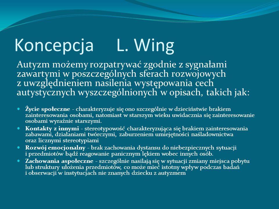 Zmniejszona zdolność myślenia abstrakcyjnego i symbolicznego; występuje niekiedy łącznie z oligofrenią; w praktyce mylony z głuchoniemotą, alalią lub