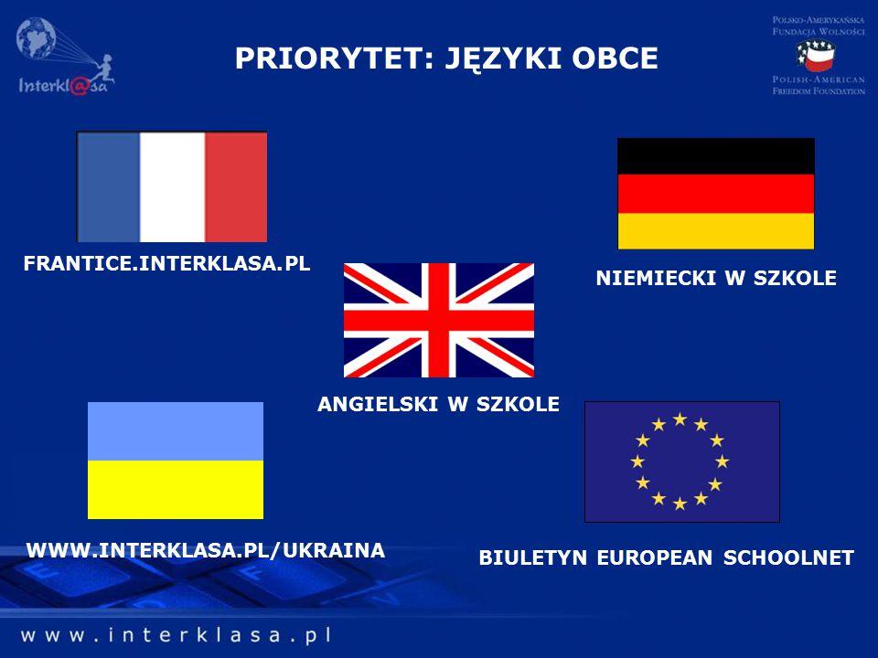 WWW.INTERKLASA.PL/UKRAINA BIULETYN EUROPEAN SCHOOLNET FRANTICE.INTERKLASA.PL ANGIELSKI W SZKOLE NIEMIECKI W SZKOLE