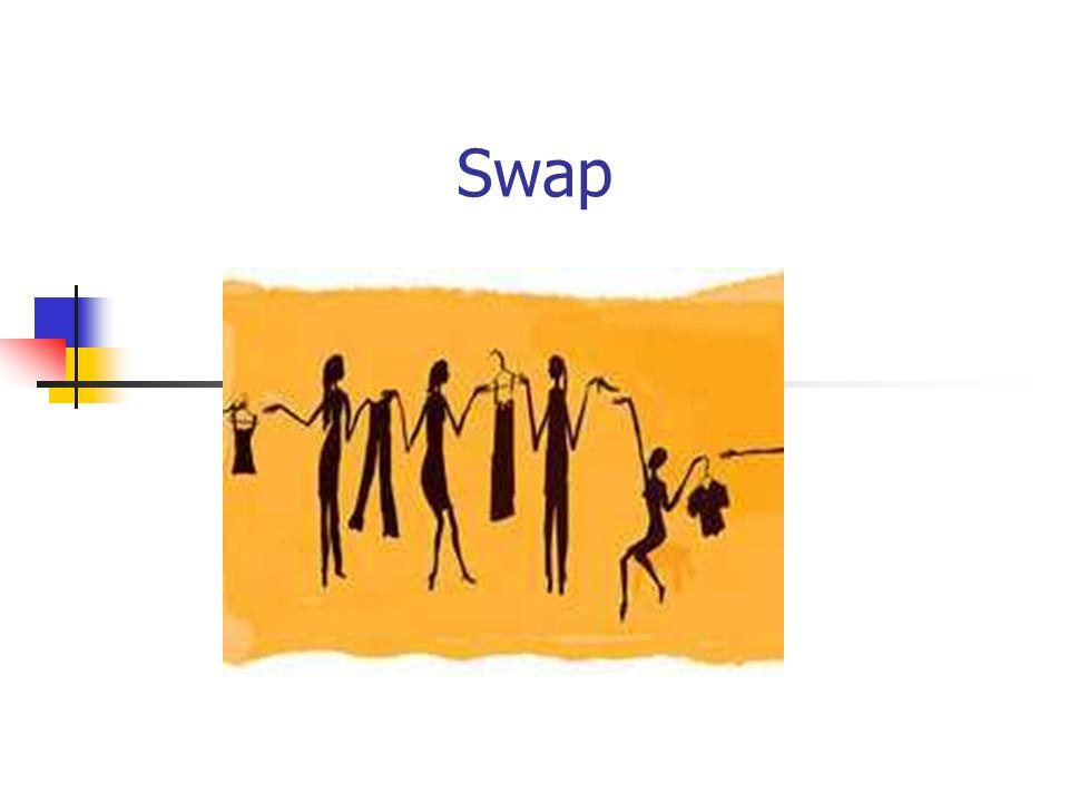 2 Określenie Swap jest umową między dwoma stronami, określającą zasady okresowych, wzajemnych płatności w kwotach uzależnionych od poziomu wyznaczonych parametrów rynkowych.