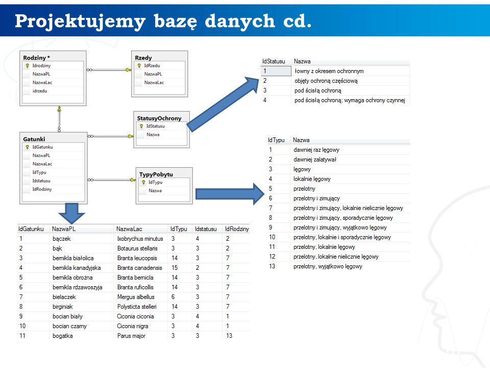 Projektujemy bazę danych cd. 10