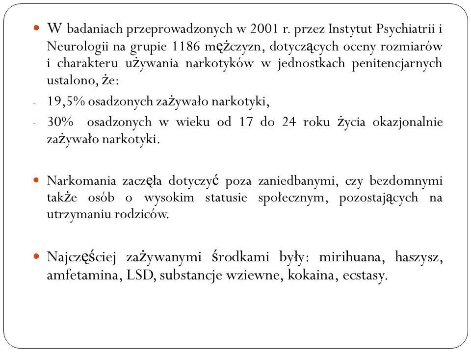 W badaniach przeprowadzonych w 2001 r. przez Instytut Psychiatrii i Neurologii na grupie 1186 m ęż czyzn, dotycz ą cych oceny rozmiarów i charakteru u