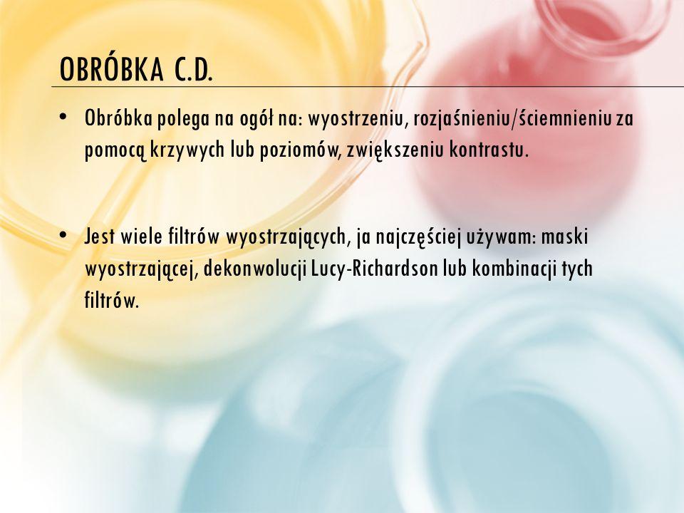 OBRÓBKA C.D.