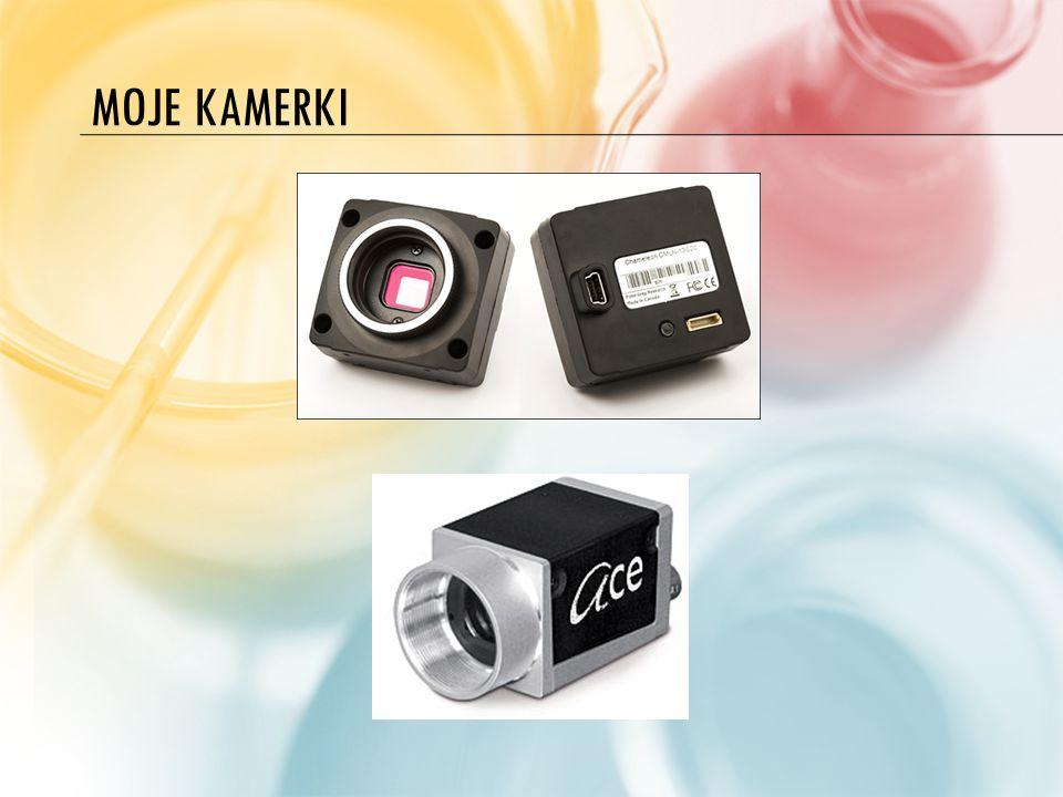 FILTRY W przypadku kamer z kolorową matrycą stosuje się tylko filtr UV/IR Cut.